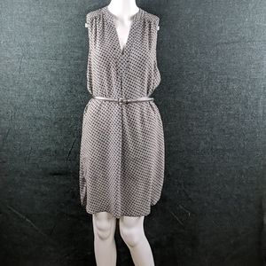 H & M Tunic Style Belted Dress